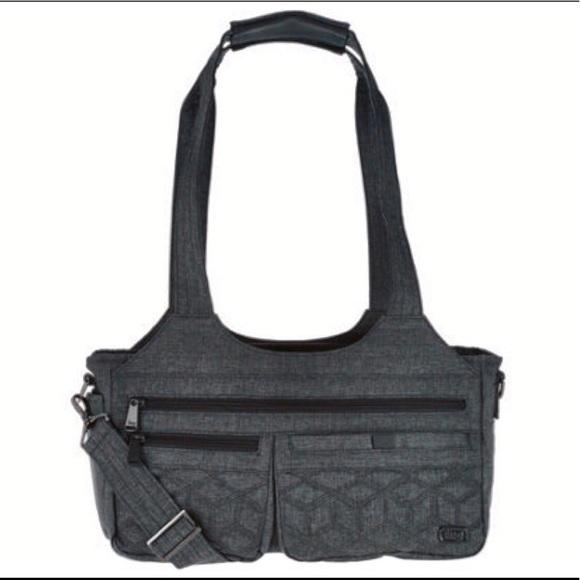 db0289658 Lug Bags | Eastwest Shallow Handbag In Heather Grey | Poshmark